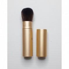 Beaute4u Retractable and Portable Makeup Brushes Metal Telescopic Brush Women Travel Cosmetic Tool