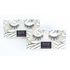 3 Pairs of Elise Original 100% Handmade Eyelash 8190 - Fulfilled By Beaute4u