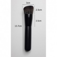 Beaute4u Professional Angled Contour Brush Deluxe Synthetic Hair Blush Blending Makeup Brush Beauty Tool