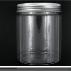 12pcs-Lot 250ml Pet Jar With Aluminium Cap
