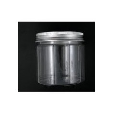 12pcs-Lot 200ml Pet Jar With Aluminium Cap