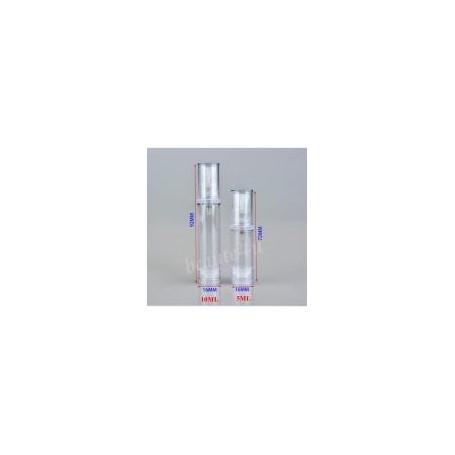 30pcs-Lot 5ml Airless Pump Clear Bottle