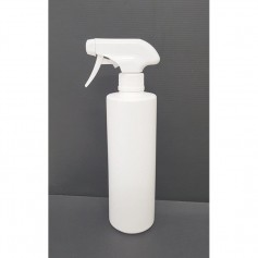 500ml HDPE White Bottle With Trigger Spray For Sanitizer.