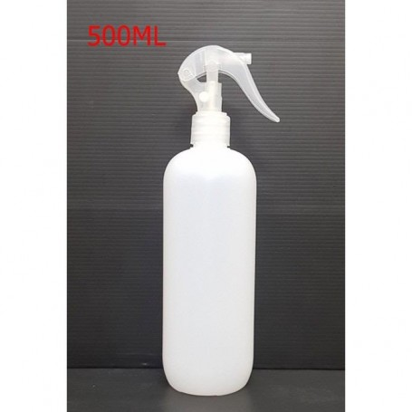 500ml HDPE Natural Bottle With Trigger Spray For Sanitizer-Beaute4u