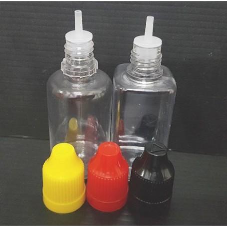 30Pcs/Lot  30ml Square Or Round PET Viper Bottle for DIY Liquid Oil Flavor
