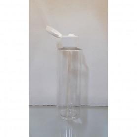 12pcs/Lot of 120ml Clear PET bottle with Flip Top Cap.