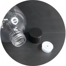 ReadyStock/ 300ml Clear PET Bottle screw cap Bottle