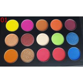 Ready Stock/15 Colors Beauty Eyeshadow Palette