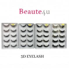 Ready Stock/5Pairs Eyelashes Natural 3d  False Lashes False Eyelashes Full Strip Lashes