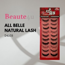 All Belle natural lash Mix (10pairs)