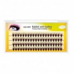 Stars Colors Eyelashes Soft Grafting Eyelash Extension Thick style 20 Hairs Rabbit anti-lashes XEB-009 (9mm Length)
