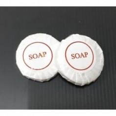 Beaute4u 100pcs-Lot of 15g Pleat Wrap Hotel Soap Guest Soap Bath Soap SABUN Homestay - Fulfilled By Beaute4u