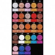 Beaute4u New Professional Glitter Eyes Single Eyeshadow Pressed Powder - Fulfilled By Beaute4u