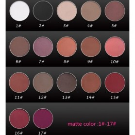 Beaute4u Single Color Eyeshadow Makeup Magnetic Pressed Powder DIY Refill Pan - Fulfilled By Beaute4u