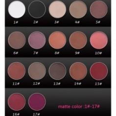 Beaute4u Single Color Eyeshadow Makeup Magnetic Pressed Powder DIY Refill Pan - Fulfilled By Beaute4u