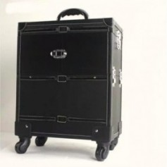 Beaute4u Professional Trendy Trolley Makeup Case -04 - Fulfilled By Beaute4u
