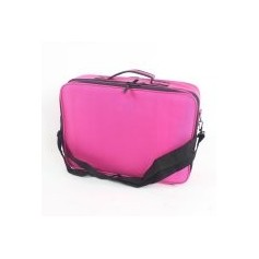 Professional Large Beauty Make Up Cosmetic Bag Case Toiletry Storage Organizer Pink Color