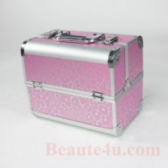Cosmetic Organizer Box Make Up Case for Make Up Tools Storage Box -2321 (Pink Color)