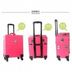Beaute4u Professional Trendy Trolley Makeup Case -04 - Fulfilled By Beaute4u