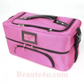 Beaute4u Professional Cosmetic Makeup Storage Beauty Box Organizer-09 (Pink) - Fulfilled By Beaute4u